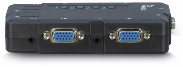 KVM Switch KVM-CS-41UA, 4-port - Produktbild 3
