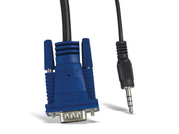 KVM Switch KVM-CS-41UA, 4-port - Produktbild 8
