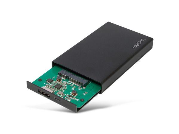 "1,8"" Festplatten-Gehäuse LOGILINK UA0222, USB3.0 zu mSATA - Produktbild 2"