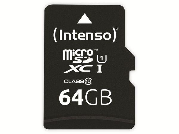 microSDXC Card INTENSO 3433490, 64 GB