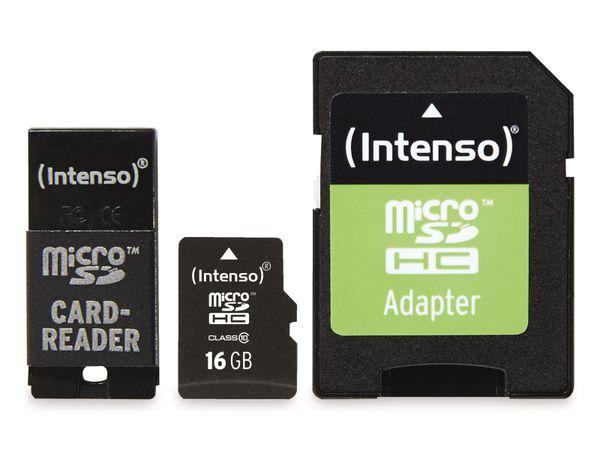 microSDHC Card INTENSO 3413760, 16 GB - Produktbild 1