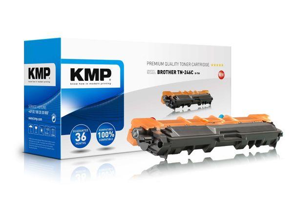 Toner KMP, kompatibel für Brother TN-246C, cyan