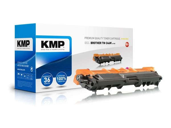 Toner KMP, kompatibel für Brother TN-246M, magenta