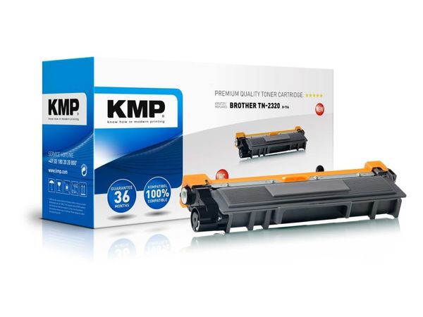 Toner KMP, kompatibel für Brother TN-2320, schwarz