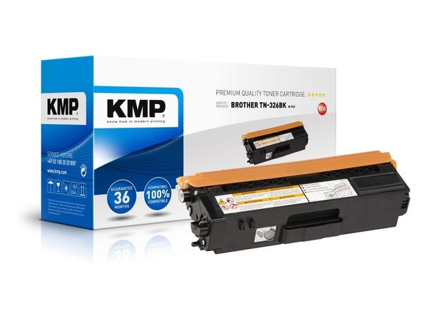 Toner KMP, kompatibel für Brother TN-326BK , schwarz