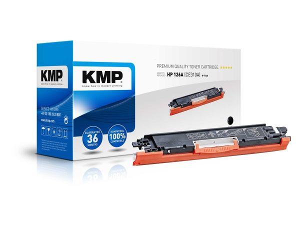 Toner KMP, kompatibel für HP 126A (CE310A), schwarz