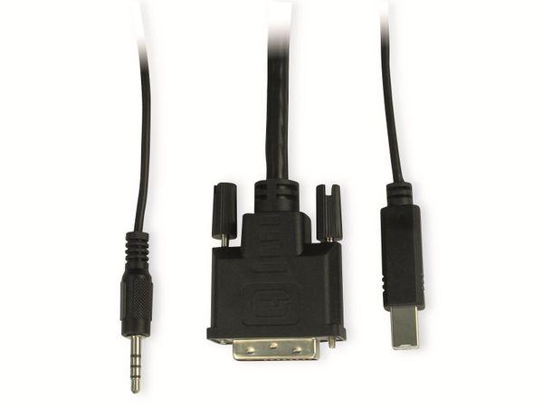 KVM Switch KVM-AS-21DA, 2-port - Produktbild 3