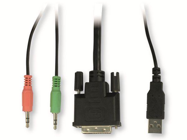 KVM Switch KVM-AS-21DA, 2-port - Produktbild 4