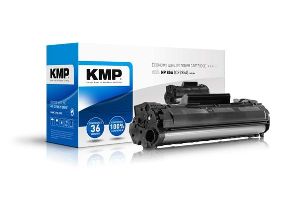 Toner KMP, kompatibel für HP 85A (CE285A), schwarz