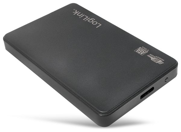 "6,35 cm (2,5"") USB 3.0 Festplattengehäuse LOGILINK UA0256, HDD, SSD - Produktbild 2"