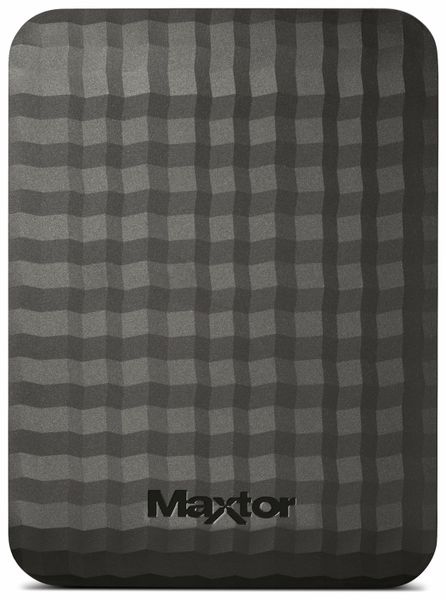 "USB 3.0 HDD MAXTOR M3 Station STSHX-M101TCBM, 1 TB, 6,35 cm (2,5"") - Produktbild 2"