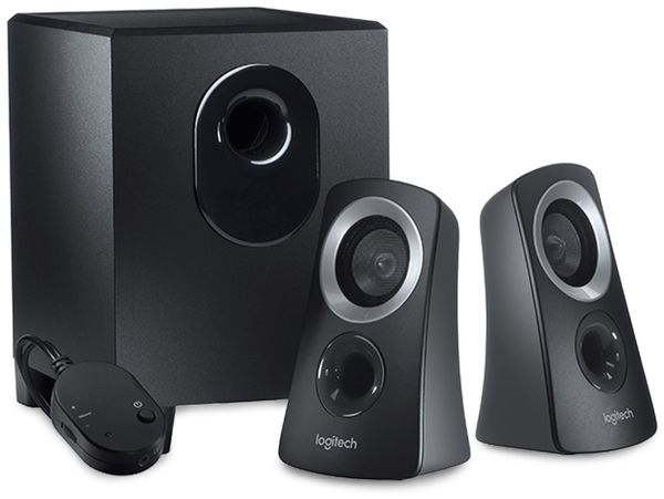 Lautsprecher LOGITECH Z313, Stereo, 25 Watt, Subwoofer