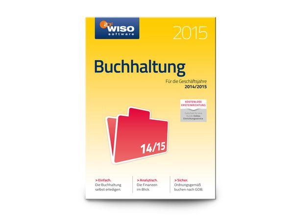 Software WISO Buchhaltung 2015 für Windows, 1 Lizenz, 365 Tage