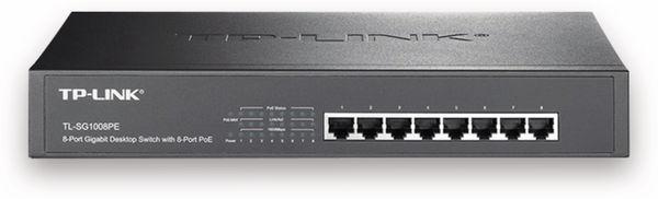 Gigabit-Desktop-/Rackmount-PoE Netzwerk-Switch TP-LINK TL-SG1008PE, 8-Port - Produktbild 1