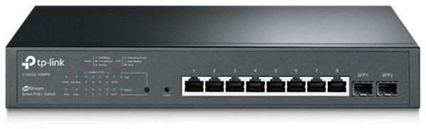 Switch TP-LINK JetStream T1500G-10MPS, 8-port