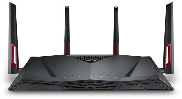 WLAN-Router ASUS RT-AC88U, Wave 2, Dual-Band - Produktbild 2