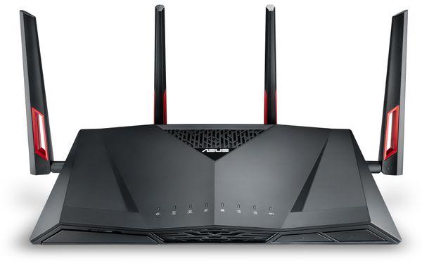 WLAN-Router ASUS RT-AC88U, Wave 2, Dual-Band - Produktbild 3