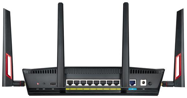 WLAN-Router ASUS RT-AC88U, Wave 2, Dual-Band - Produktbild 4