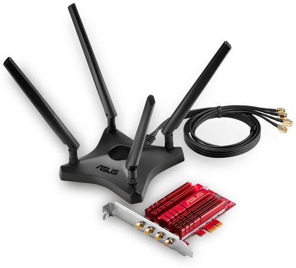 WLAN PCIe-Karte ASUS PCE-AC88, Dual-Band