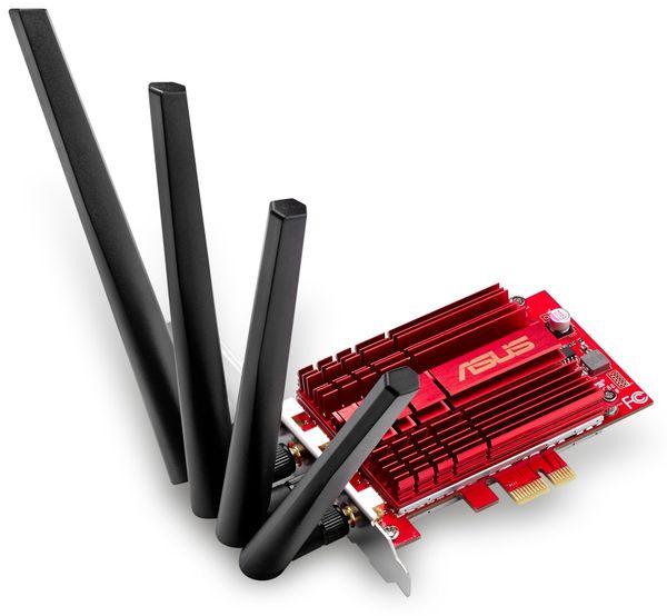 WLAN PCIe-Karte ASUS PCE-AC88, Dual-Band - Produktbild 2