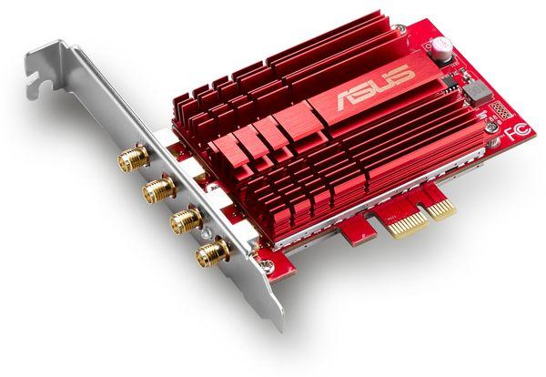 WLAN PCIe-Karte ASUS PCE-AC88, Dual-Band - Produktbild 3