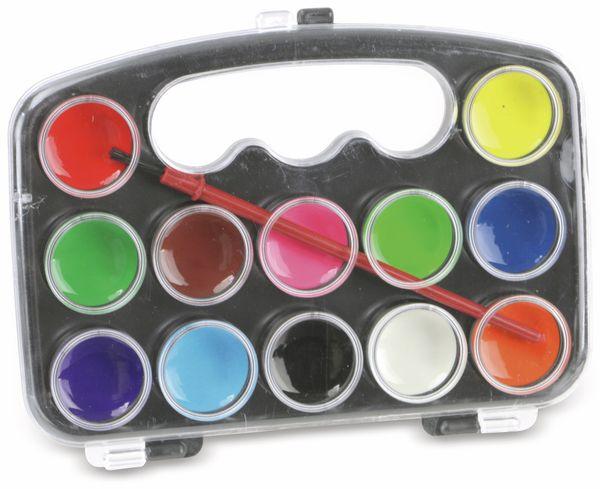 Wasserfarben-Set, 12 Farben