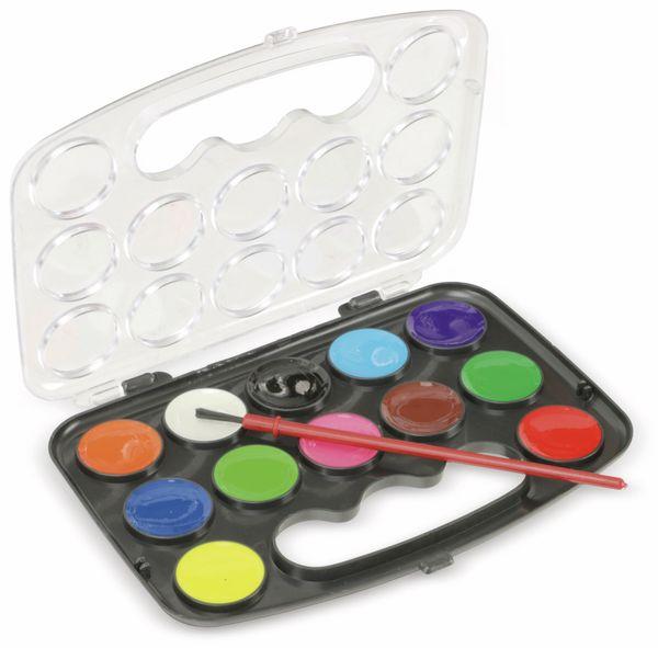 Wasserfarben-Set, 12 Farben - Produktbild 2