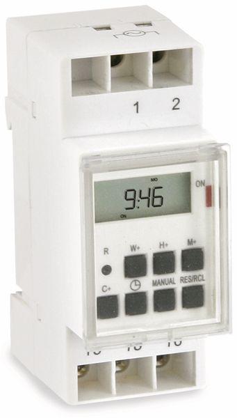 Digitale Zeitschaltuhr für DIN-Schiene