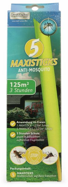 Insektenschutz Anti-Mosquito-Sticks RAPID ACTION - Produktbild 1