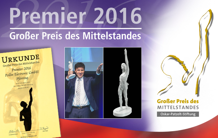 Pollin Electronic ist 'Premier 2016'!
