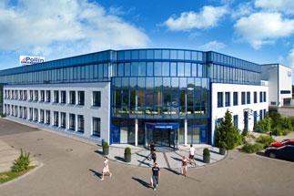Firmengebäude der Pollin Electronic GmbH